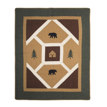 Bear Pyramid Throw - 754069604302