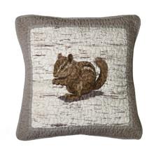Birch Forest Chipmunk Pillow - 754069861156
