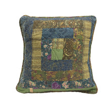 Cabin Raising Patch Pillow - 754069660018