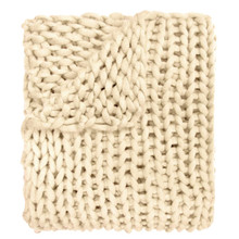 Chunky Knitted Throw - 754069700028