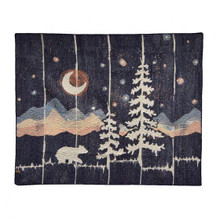 Moonlit Bear Throw - 754069611102