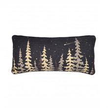 Moonlit Cabin Tree Boudoir Pillow - 754069612178
