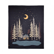 Moonlit Cabin Throw - 754069612109
