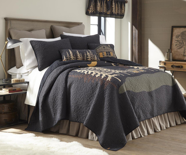Moonlit Cabin Quilt Collection -