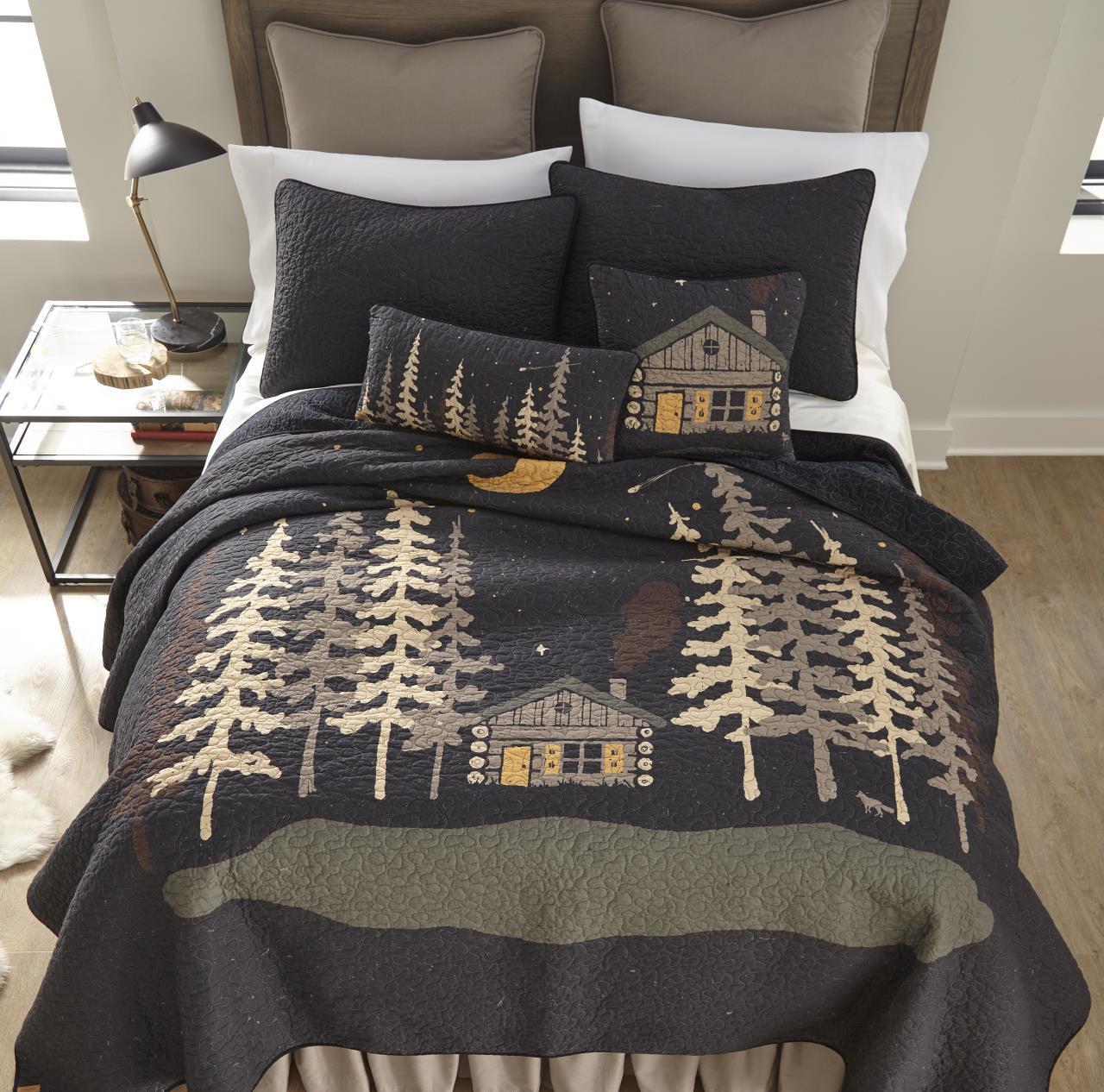 Moonlit Cabin Quilt Collection -