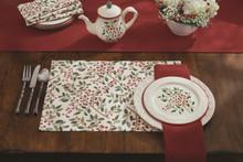 Simply Holly Printed Napkin Set - 762242429734