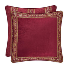 Maribella Crimson Euro Sham - 846339092381