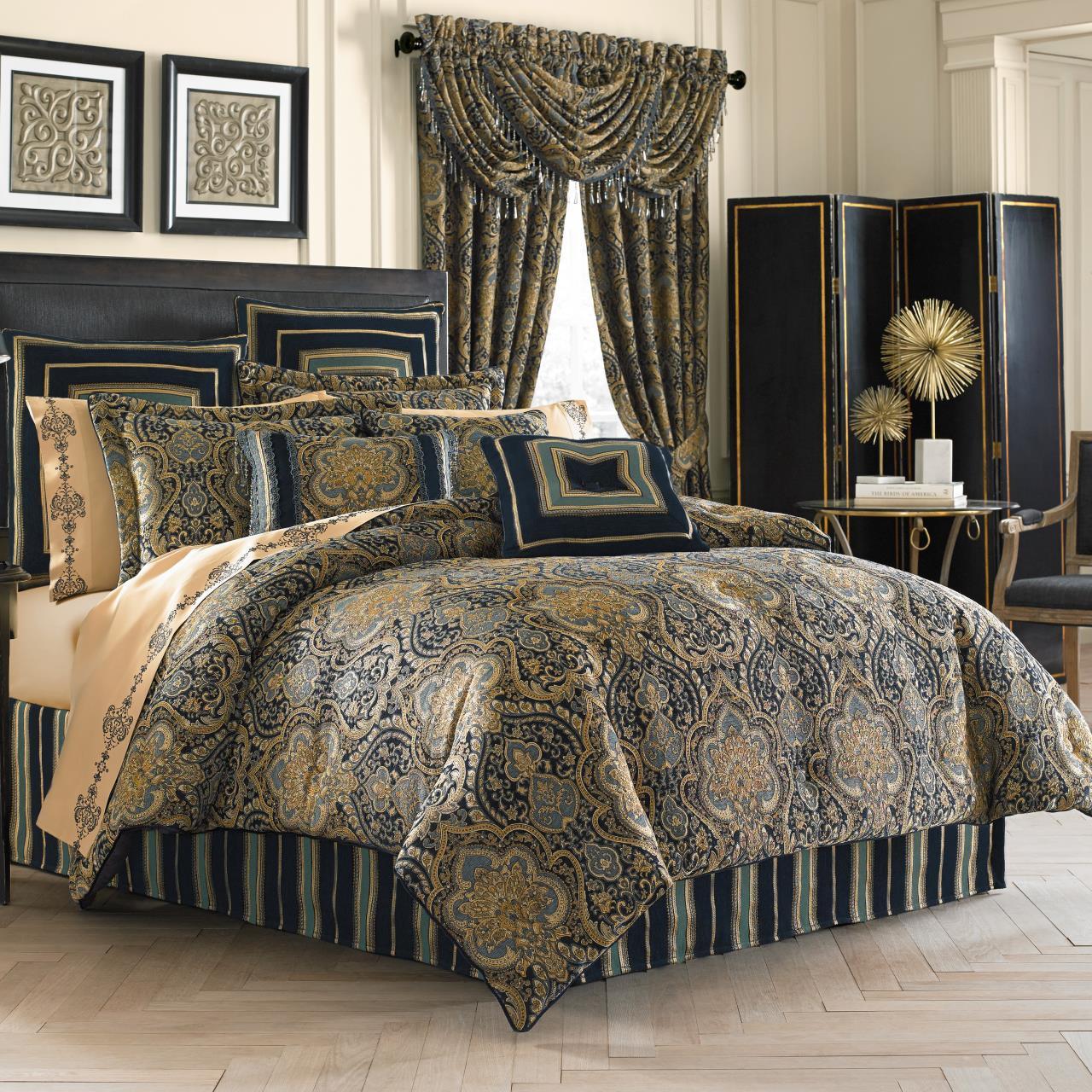 PalmerTeal Comforter Collection -