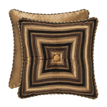 "Reilly Black 18"" Square Pillow - 846339081194"