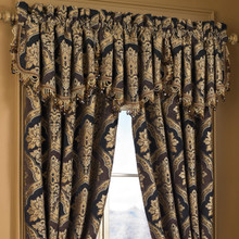 Reilly Black Ascot Valance - 846339081217