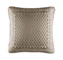"""Beaumont Champagne 20"""" Square Pillow - 846339091223"""
