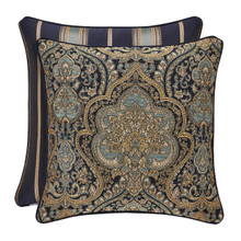 """Palmer Teal 20"""" Square Pillow - 846339091308"""