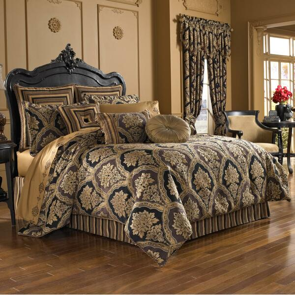 Reilly Black Comforter Set - 846339081248