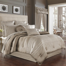 Beaumont Champagne Comforter Set - 846339091254