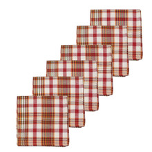 Abingdon Plaid Napkin Set - 008246546870
