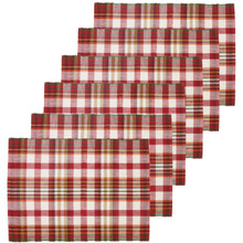 Abingdon Plaid Placemat Set - 008246549109