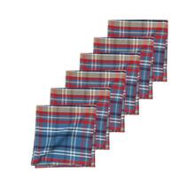 Rockwell Plaid Napkin Set - 008246554783
