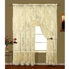Abbey Rose Swag Valance - 748779012380