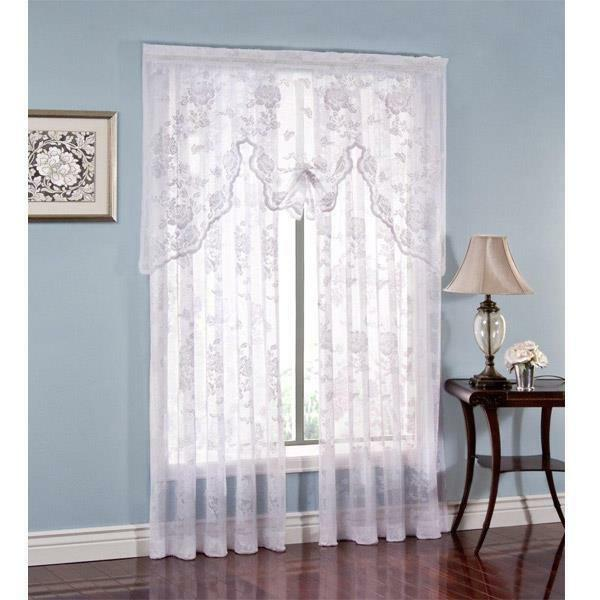 Abbey Rose Lace Curtain -