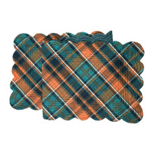 Troy Plaid Table Runner - 008246551881