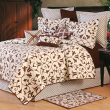 Seraphina Brown Quilt Set - 000000000000
