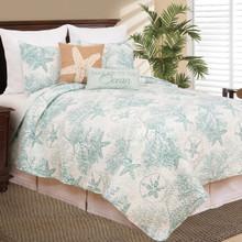 Ocean Treasures Quilt Set - 008246557234
