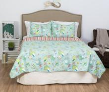 Laguna Breeze Quilt Set - 008246494461