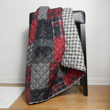Red Forest Throw - 754069200184