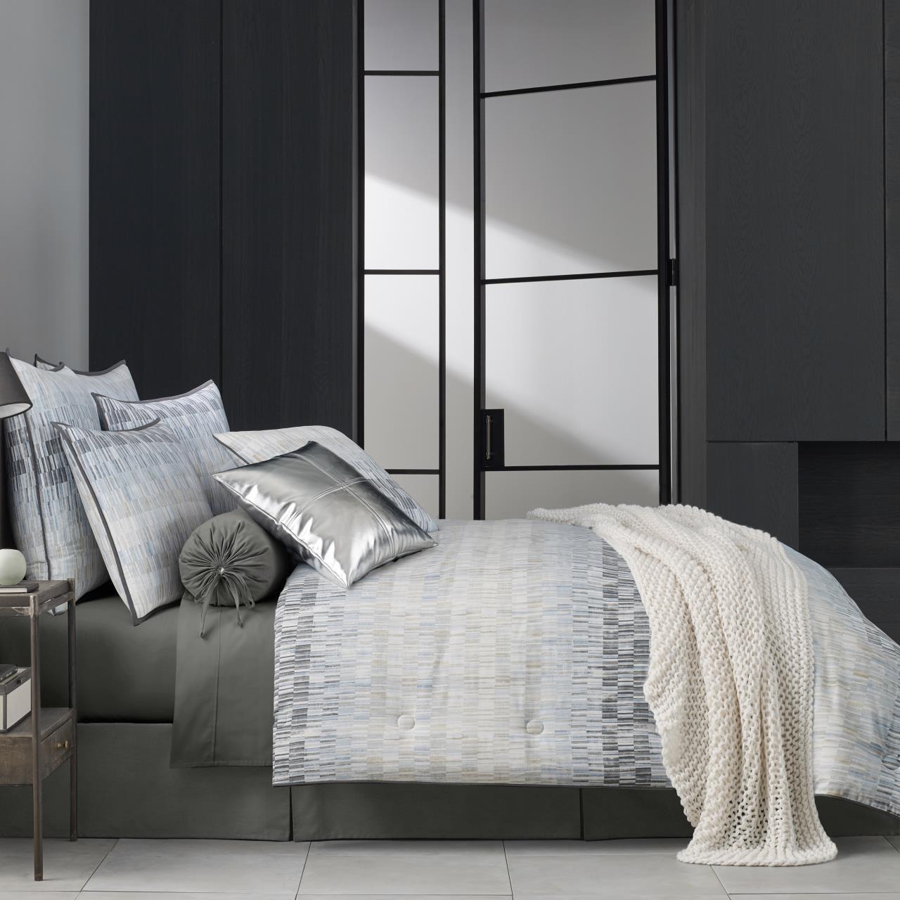 Flatiron Teal Bedding Collection -
