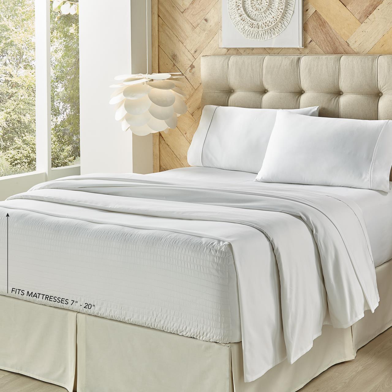 Royal Fit 300 Thread Count 100% Cotton Sheet Set - 193842100639