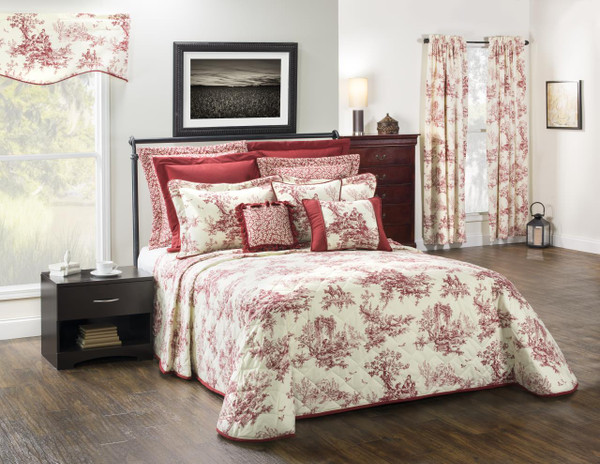 Bouvier Red Bedding Collection -