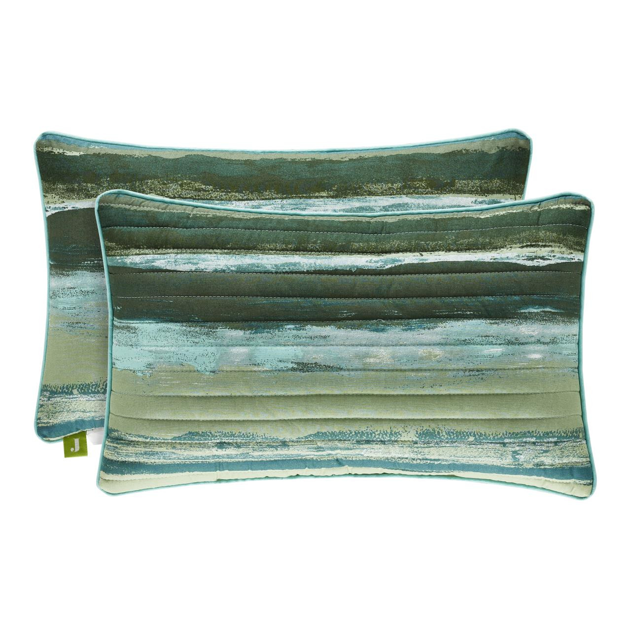 Cordoba Forest Quilted Boudoir Pillow - 846339097744