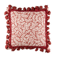 """Bouvier Red 14"""" Square Pillow - 138641169852"""