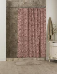 Bouvier Red Leaf Shower Curtain - 138641170988