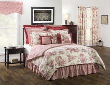Bouvier Red Comforter Set - 138641166400