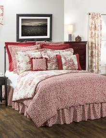 Bouvier Red Comforter - 138641167254