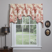 Bouvier Red Empress Curtain - 138641170124