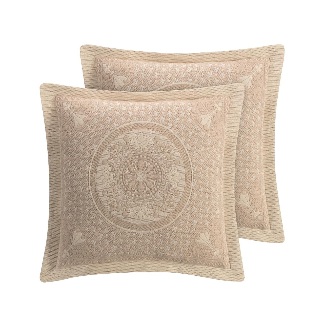 Basset Linen Euro Sham By Williamsburg Paul S Home Fashions