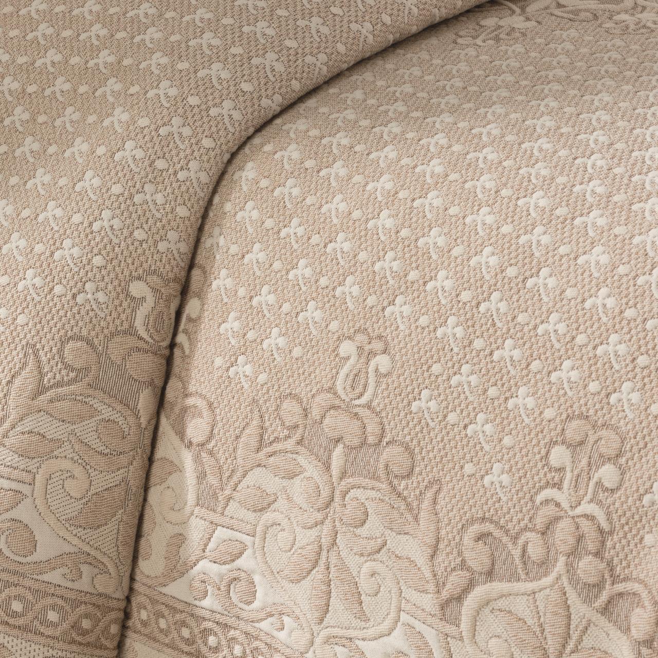 Basset Linen Matelesse Coverlet - 048975021200