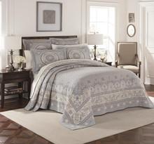 Basset Blue Matelesse Bedspread - 048975021347