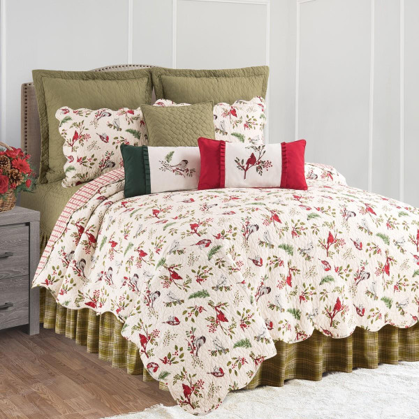 Sprig Birds Quilt Collection -