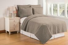 Flint Gray Matelesse Quilt Collection -