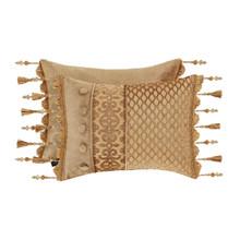 Sicily Gold Boudoir Pillow - 846339092176