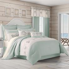 Water's Edge Aqua Comforter Set - 846339098376