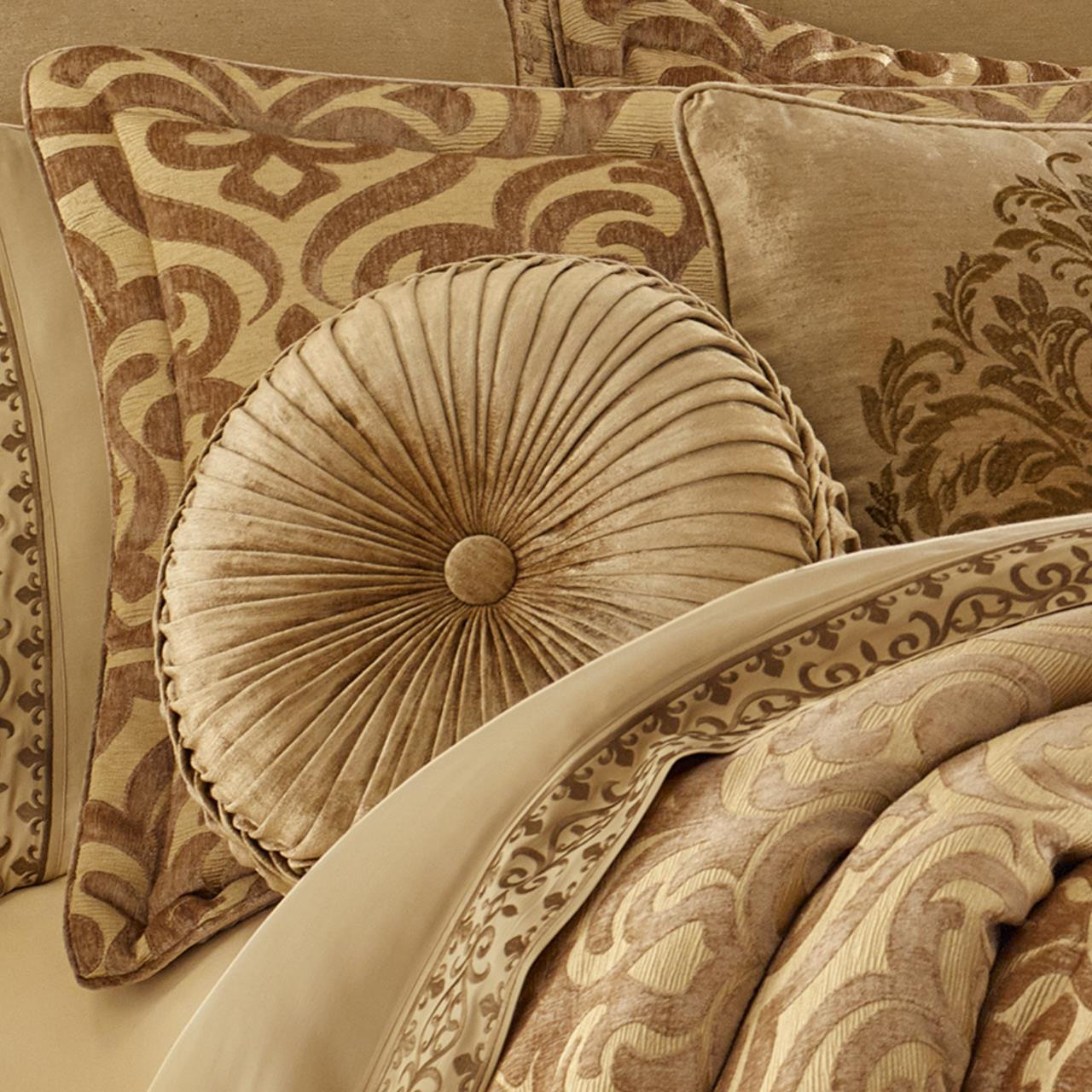 Sicily Gold Comforter Set By J Queen New York Paul S Home Fashions