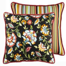 Cambridge Noir Square Pillow - 138641195042