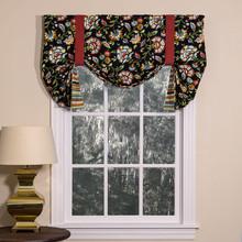 Cambridge Noir Tie Up Curtain - 138641195738