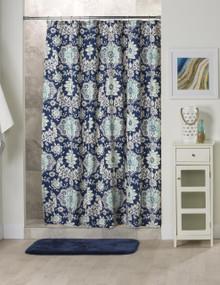 Belmont Harbor Shower Curtain - 138641133976