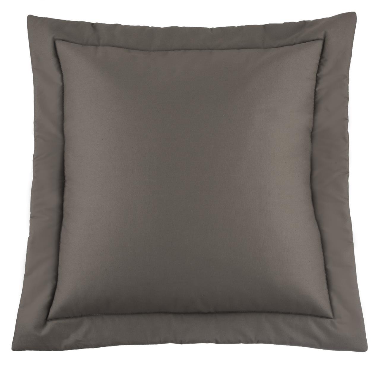Belmont Metal Grey Euro Sham - 138641199620