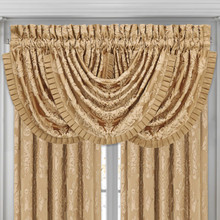 Colonial Gold Waterfall Valance - 846339065125